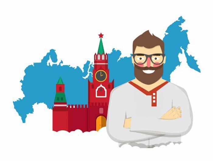 Россия, Москва, домен Рус