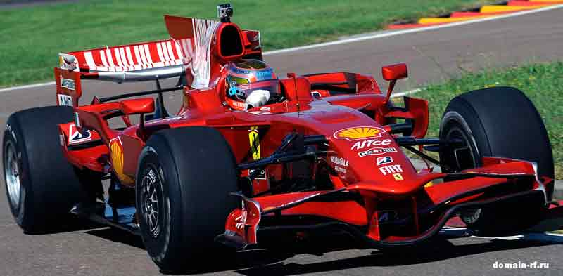 Болид «Формулы-1» в мире хостинга!