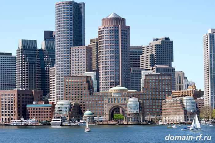 boston, бостон, город, америка