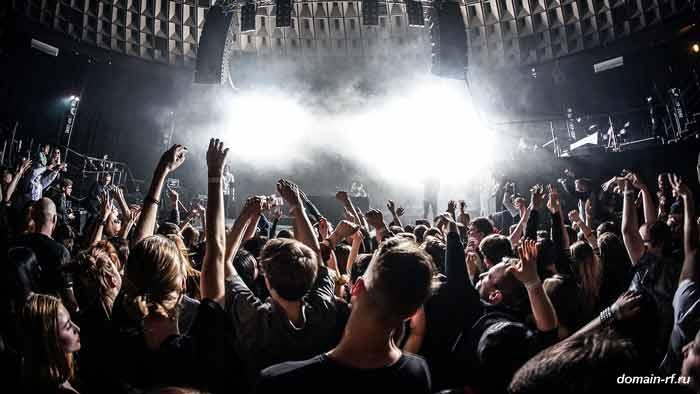 люди, толпа, концерт