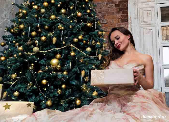 новый год, ёлка, новогодний подарок