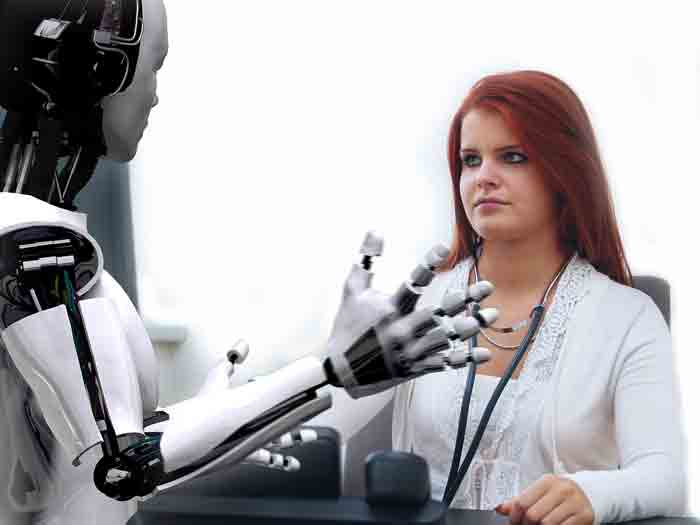 Доктор, врач, робот, лечение