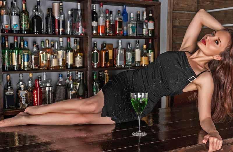 Алкоголь, девушка