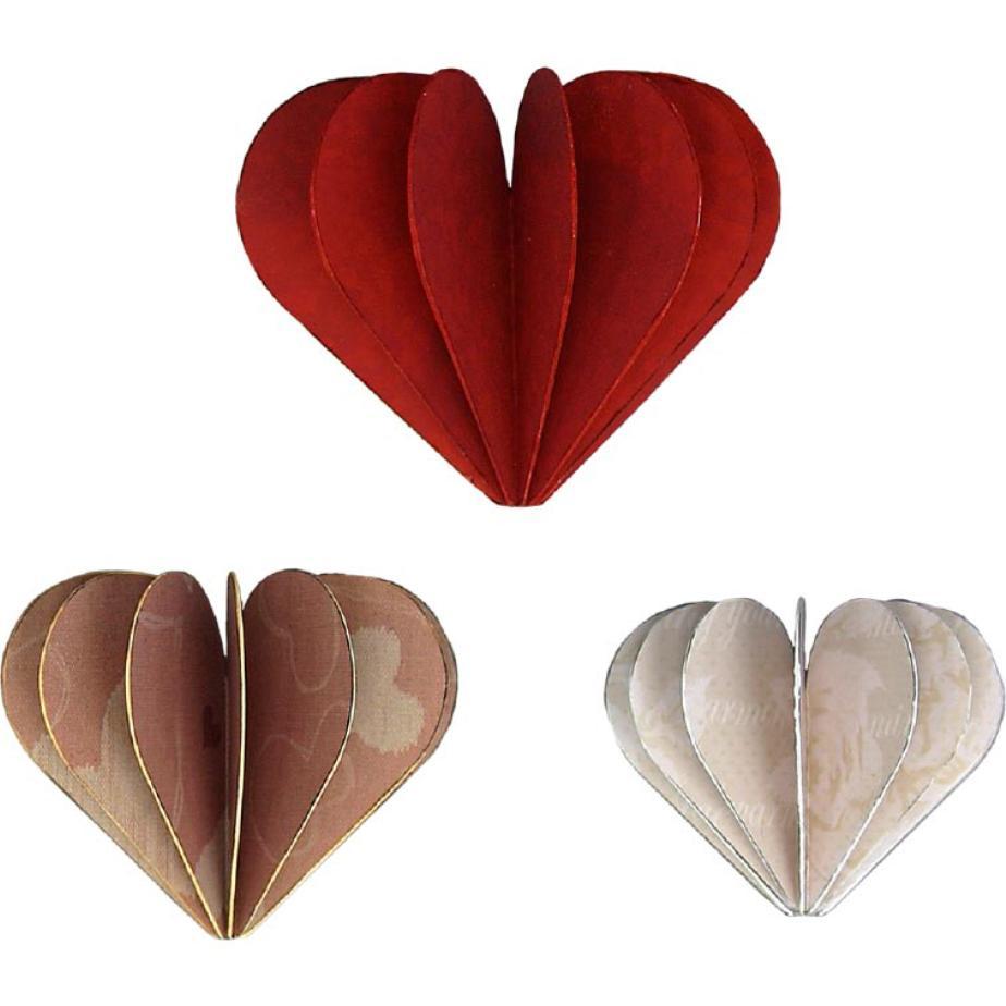 3 Д сердце из бумаги