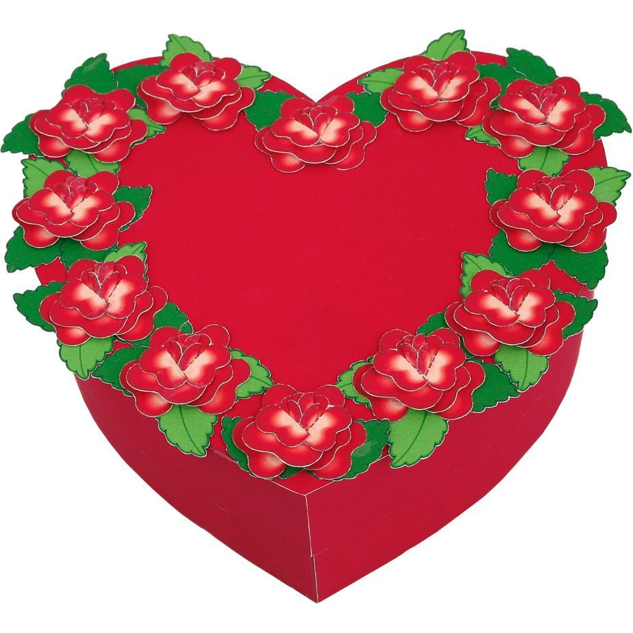 Сердце, шкатулка для подарка на День влюблённых своими руками