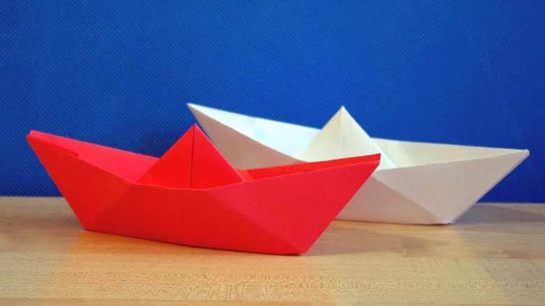 Кораблики из бумаги, бумажные модели