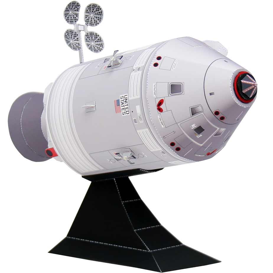 Командно-Аппаратный модуль Апполона