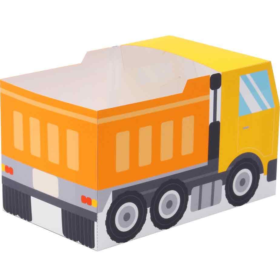 Самосвал, подарочная коробка, модель из бумаги