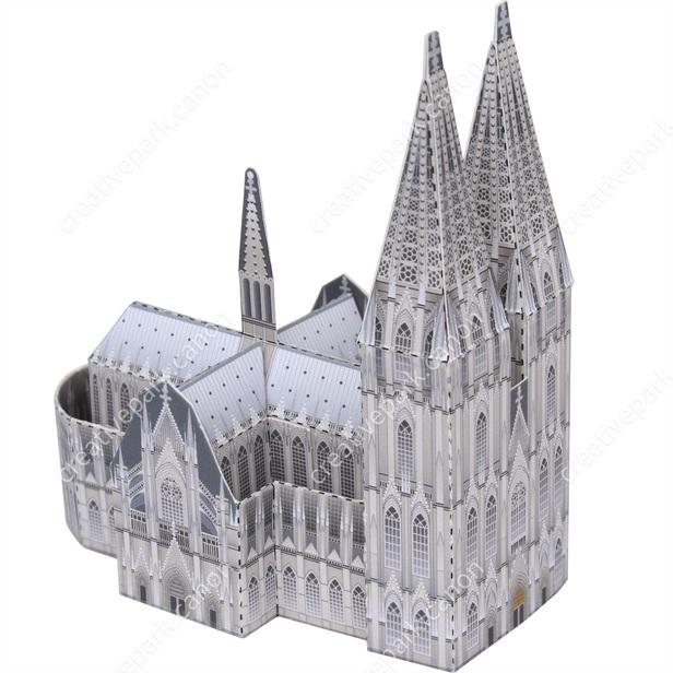 Кёльнский собор, Германия, музей на столе, модель из бумаги